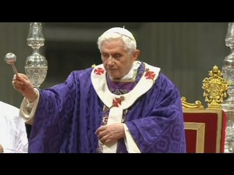 Come Servire La Messa.Ultima Messa Di Papa Benedetto Xvi In San Pietro Youtube