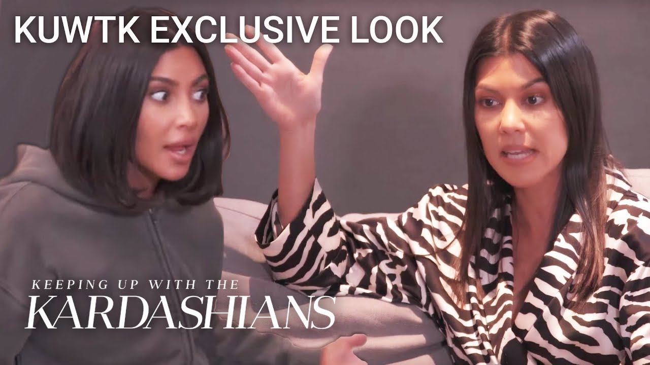 Kim & Kourtney Kardashian Clash Over Candy For Daughters' Party | KUWTK Exclusive Look | E!