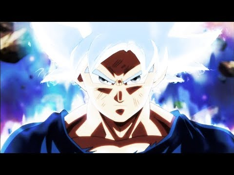 First look at Goku's Mastered Ultra Instinct
