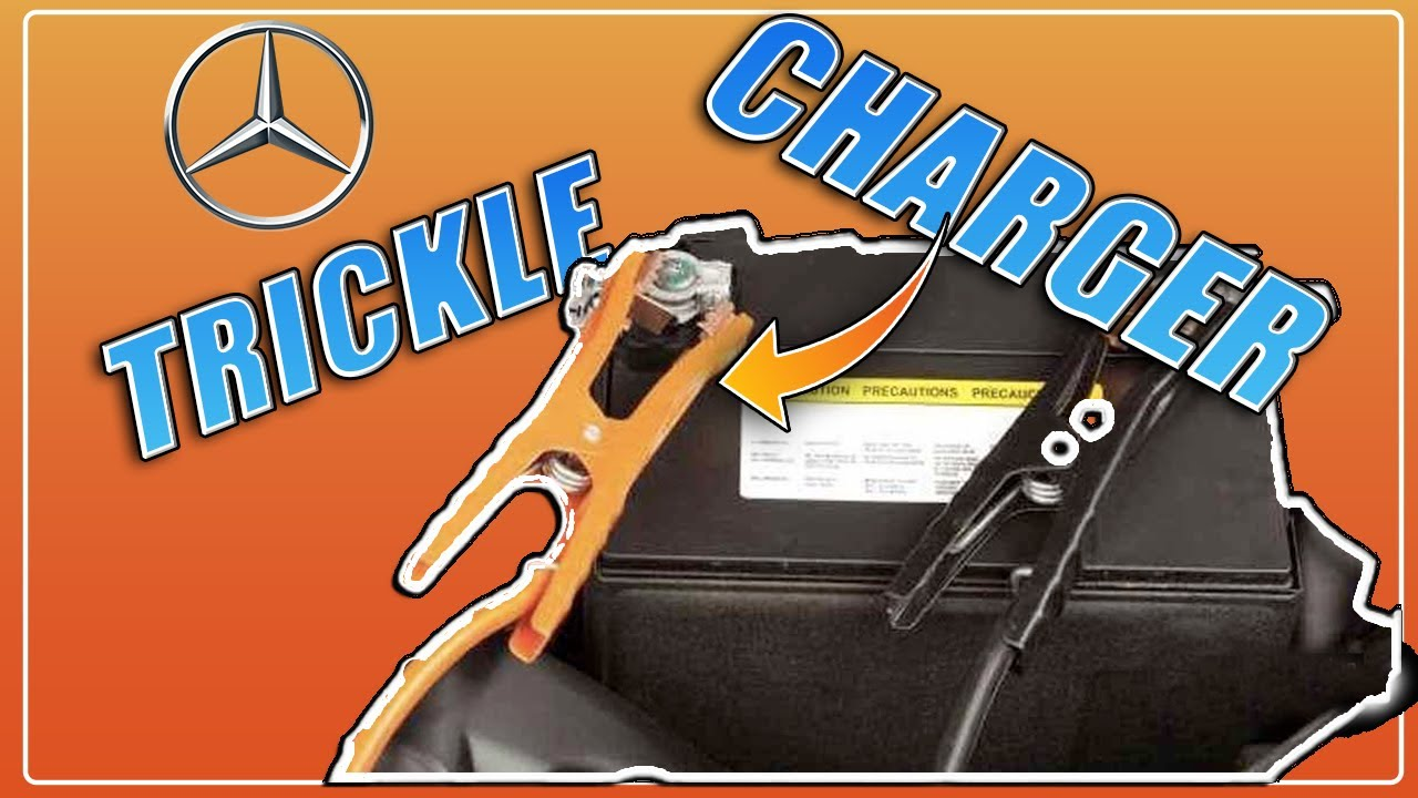 hight resolution of  how to safely put a mercedes benz on a trickle charger w helpful tips