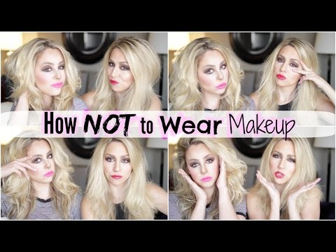 How NOT to Wear Makeup - Teen Choice Awards thumbnail