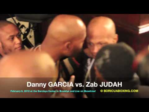 """THE BRAWL"" Danny and Angel GARCIA vs. Zab JUDAH - Raw & UnCut!!! (BoricuaBoxing.com)"