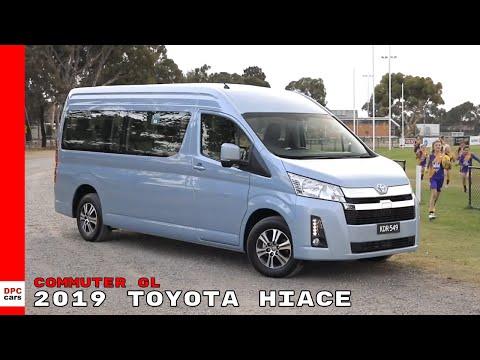 2019 Toyota HiAce Commuter GL Van