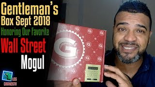 Gentleman's Box September 2018 👔 : LGTV Review