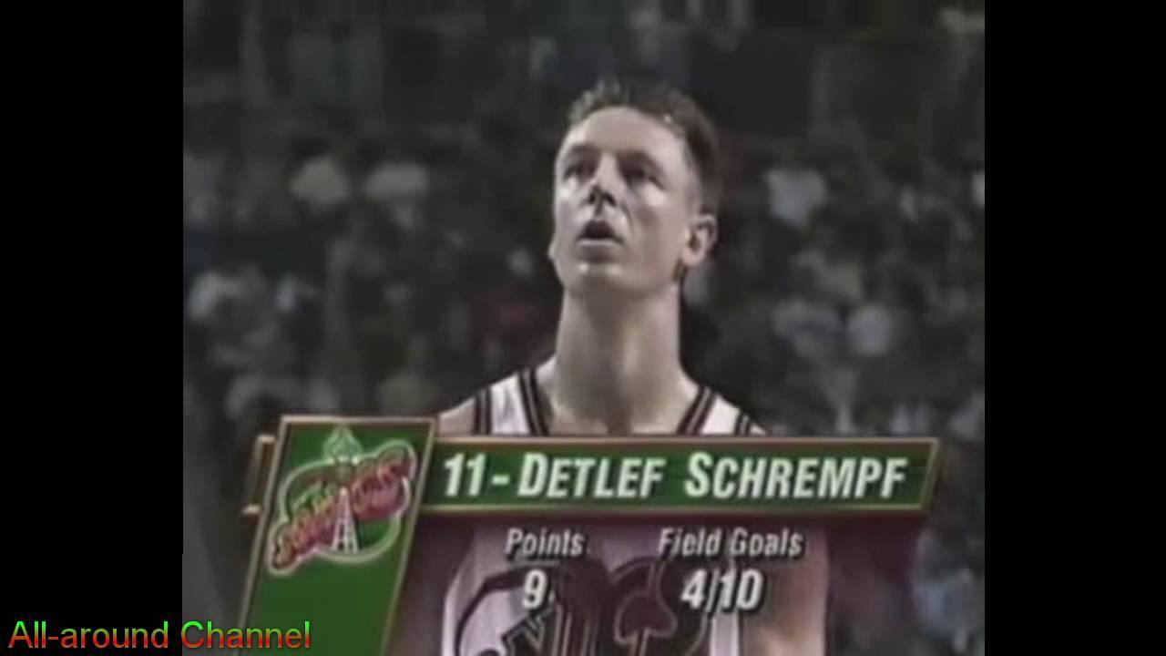 Detlef Schrempf 20pts Game Winner vs Orlando 1995 96