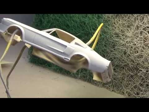 1967 Shelby Mustang GT500 Eleanor scale model build-up video part 2