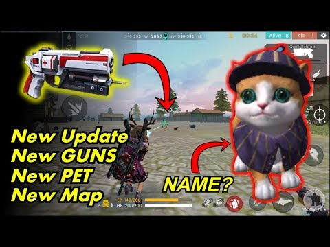 Free Fire New Update Pet System, Treatment Gun, New AN94 Gun, New Map & Many More