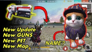 Free Fire New Update Pet System Treatment Gun New AN94 Gun New Map And Many More