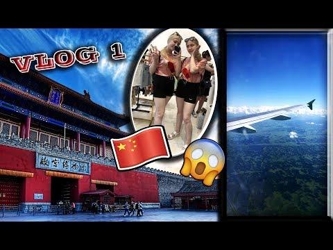 VLOG#1 Наш ужасный перелет | Потеряли свой багаж | Китай