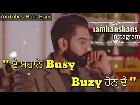 New Punjabi Sad Song Whatsapp Status Video 2019 | New ...
