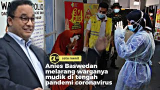 Anies Baswedan minta warganya tak tinggalkan Jakarta