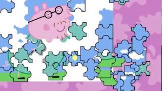 juegos de peppa pig rompecabezas