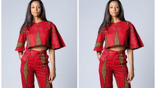 See The Latest Stylishly Ankara Top For Jeans Trousers Styles
