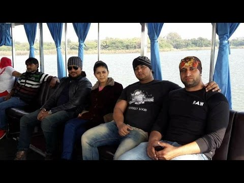Sapna Haryanvi With Bodyguards