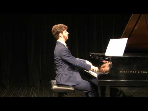 Mannes School of Music - Graduation Recital 2017 part 1