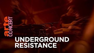 Underground Resistance - live @ Funkhaus Berlin (Full Set HiRes) – ARTE Concert