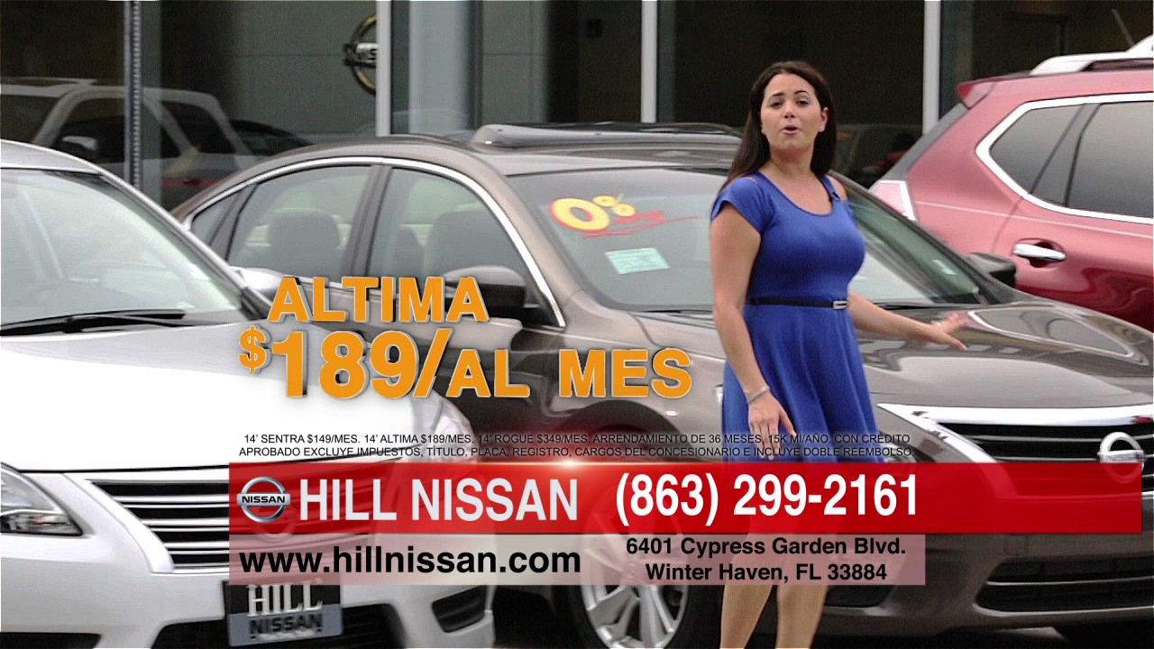 hill nissan commercial - youtube