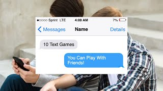 10 Fun Texting Games to Play With Your Friends Over the Phone
