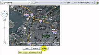 Flash ActionScript 3.0 Google Map API Tutorial 1 of 2 by tunevision