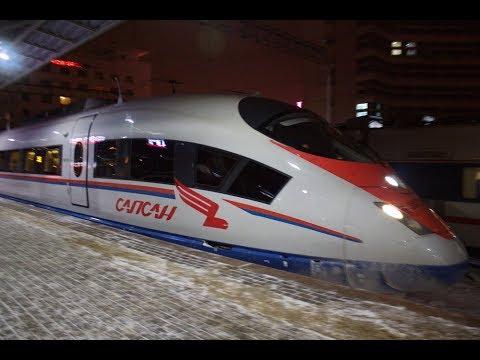 Смотреть Сапсан вернулся в Нижний Новгород онлайн