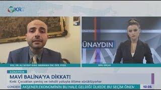 """KRT TV """"Ebru Birçak ile Günaydın"""" - Mavi Balina'nın Bilinmeyen Yüzü (Doç. Dr. Ali Murat Kırık)"""