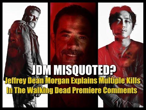Jeffrey Dean Morgan Explains Multiple Kills In The Walking Dead Premiere Comments