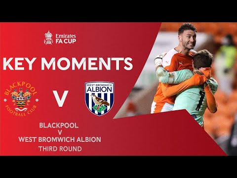 Blackpool West Brom Goals And Highlights