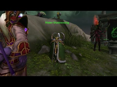 World of Warcraft Defending Broken Isles Legion Quest Guide / Introduction to Legion Assaults