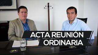 Video Acta Reunión Ordinaria download MP3, 3GP, MP4, WEBM, AVI, FLV Juli 2018