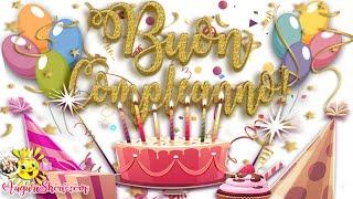 Buon compleanno!tanti auguri!🌞visita il nostro sito!🌞🌹immagini da questo video, immagini e cartoline musicale per fare auguri di compleanno: 👉 https...