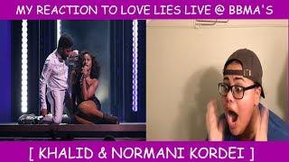 My Reaction To Love Lies Live @ The Billboard Music Awards ~ Khalid & Normani Kordei Mp3