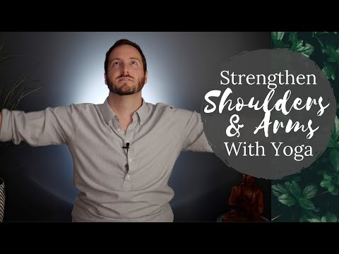 Gain Strength From Yoga! Poses for the Shoulders and Arms | Day 9 | 30 Day Yoga Challenge