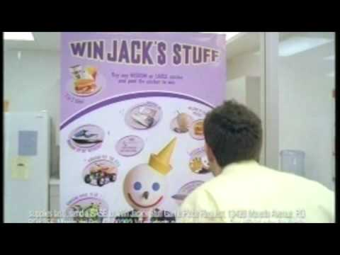 Jack in the Box - Win Jack's Stuff Commercial