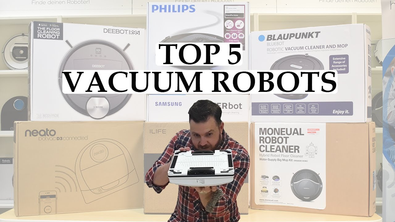 top 5 vacuum cleaning robots the best vacuum robots in action - Top 5 Vacuum Cleaners