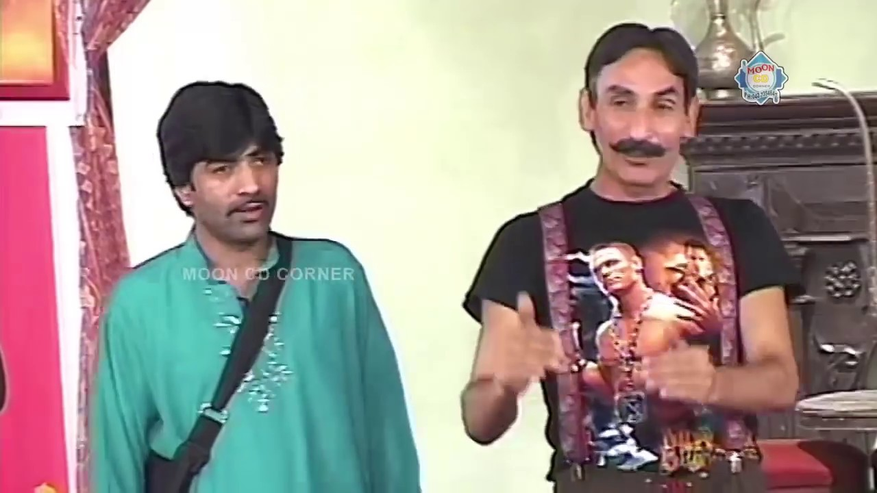 Iftikhar Thakur Sajan Abbas and Tariq Teddy New Pakistani Stage Drama Full Comedy Funny Clip