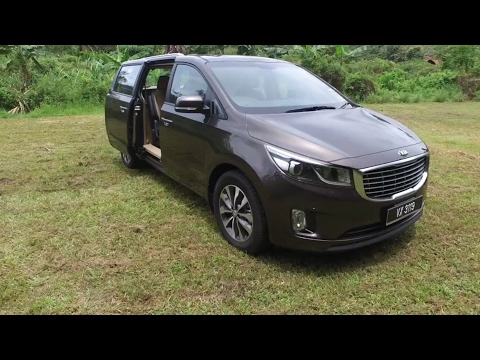 2017 Kia Grand Carnival 2.2 Diesel Super Detailed Review in Evo Malaysia
