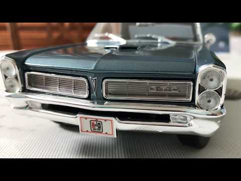 Review of 1965 Pontiac GTO by Maisto (Scale 1/18)