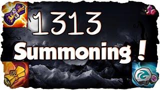 SUMMONERS WAR: Special 1313 Beschworungen - 200+ Mystische Schriftrollen! (Deutsch / German)