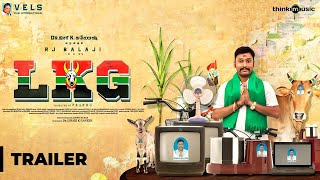LKG Official Trailer RJ Balaji Priya Anand J K Rithesh Leon James K R Prabhu