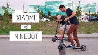 Xiaomi M365 vs Ninebot Kickscooter ES1 by Segway (la comparativa del año)