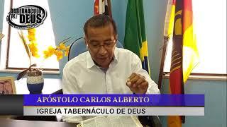 MANHÃ COM DEUS * 08/07/2020 * ROMANOS 12 VERS 11 * APÓSTOLO CARLOS ALBERTO * TABERNÁCULO DE DEUS