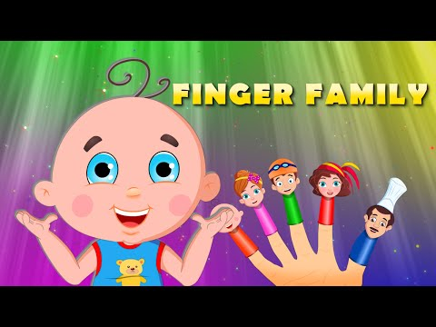 Finger Family | Nursery Rhymes for Children | Daddy Finger Kids Songs