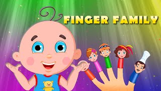 Finger Family | Flickbox Nursery Rhymes for Children | Daddy Finger Kids Songs