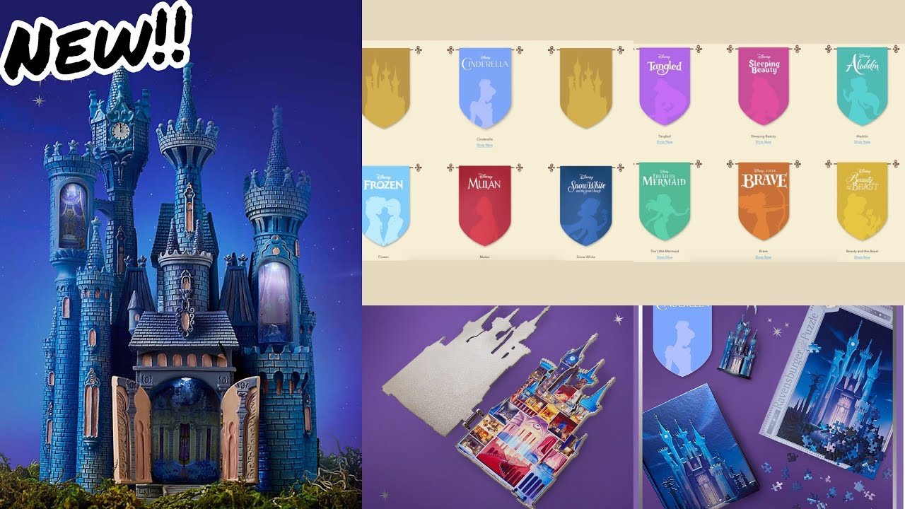 Disney Castle Collection Series Youtube