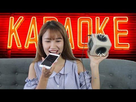 Hát karaoke tại nhà với smartphone