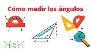 Cómo medir los ángulos de un triángulo. Mica