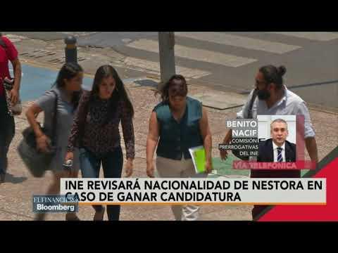 ¿Debe cancelarse la candidatura de Nestora Salgado?