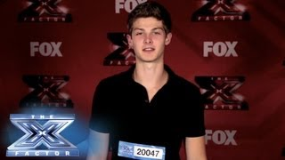Yes, I Made It!  Zach Beeken - THE X FACTOR USA 2013