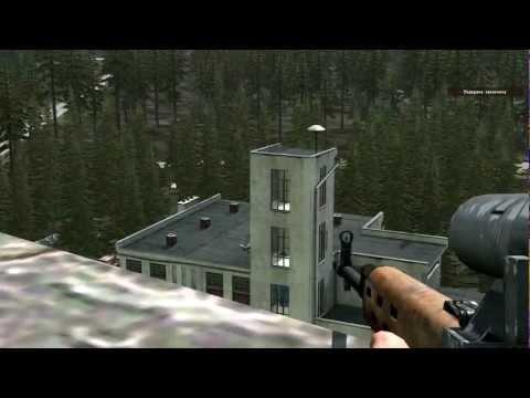 Arma 2 Серьёзные игры на Тушино |30.10.12| Снайпер в городе