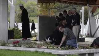 Prayers in Srebrenica